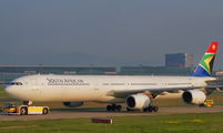ZS-SNG - South African Airways Airbus A340-600 aircraft