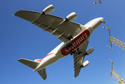 A6-EUN - Emirates Airlines Airbus A380 aircraft