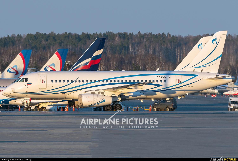 Gazpromavia RA-89049 aircraft at Koltsovo - Ekaterinburg