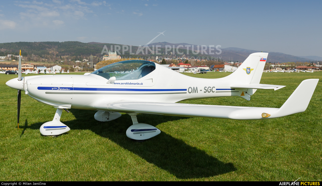 Aeroklub Martin OM-SGC aircraft at Prievidza