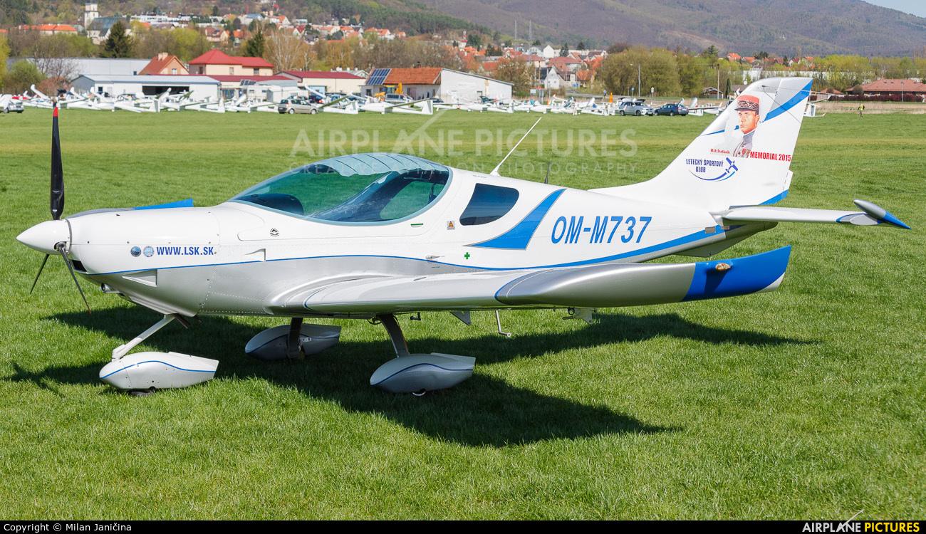 Letecky Sportovy Klub Zvolen OM-M737 aircraft at Prievidza