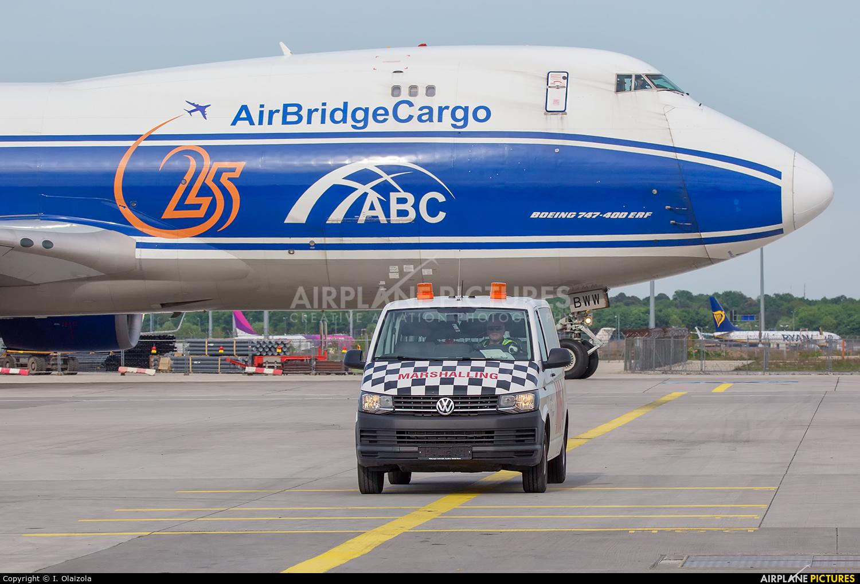 Air Bridge Cargo VQ-BWW aircraft at Frankfurt