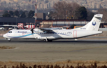EP-ATX - Iran Aseman ATR 72 (all models)
