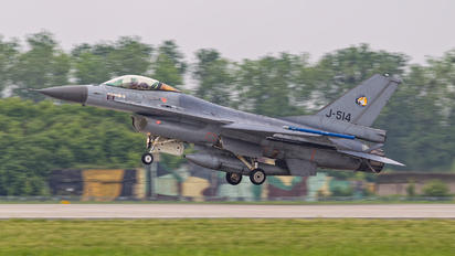 J-514 - Netherlands - Air Force General Dynamics F-16AM Fighting Falcon