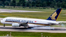 9V-SKJ - Singapore Airlines Airbus A380 aircraft
