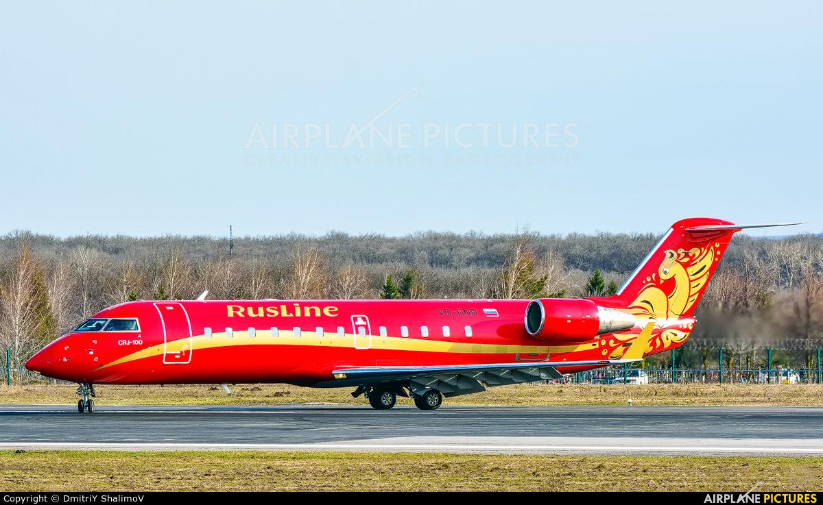 Rusline VQ-BNB aircraft at Belgorod Intl