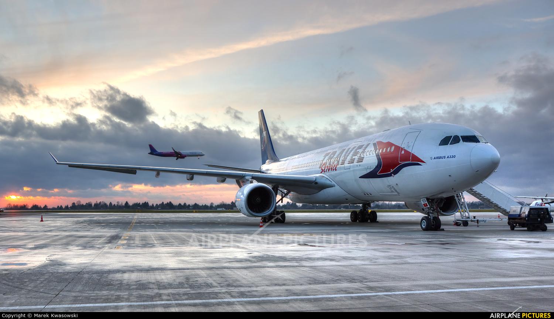 Travel Service C-GTSI aircraft at Warsaw - Frederic Chopin