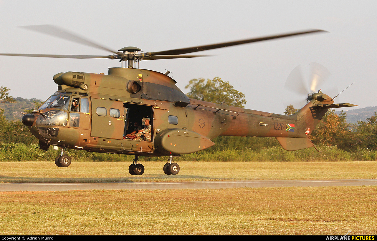 South Africa - Air Force 1226 aircraft at Nelspruit