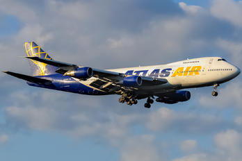 N517MC - Atlas Air Boeing 747-200