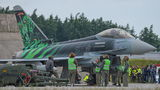Germany - Air Force Eurofighter Typhoon S 31+00 at Poznań - Krzesiny airport