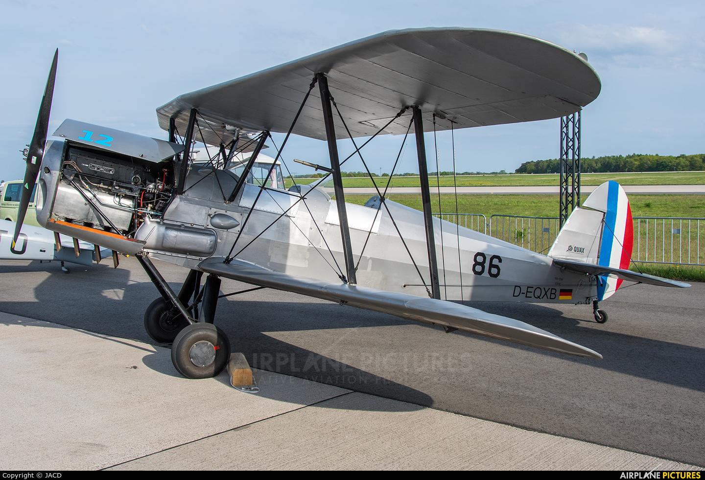 Private D-EQXB aircraft at Berlin - Schönefeld