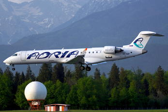 S5-AAY - Adria Airways Bombardier CRJ-700