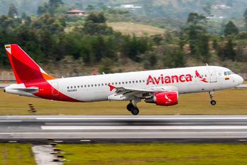 N664AV - Avianca Airbus A320