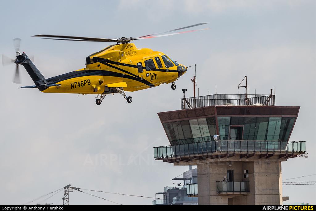 Lahak Aviation N746PB aircraft at Sde Dov