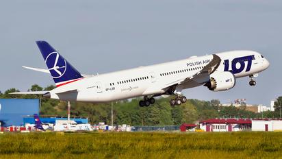 SP-LSB - LOT - Polish Airlines Boeing 787-9 Dreamliner