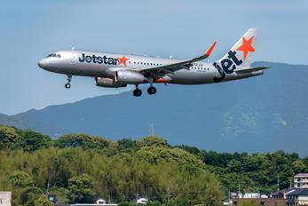 JA12JJ - Jetstar Japan Airbus A320