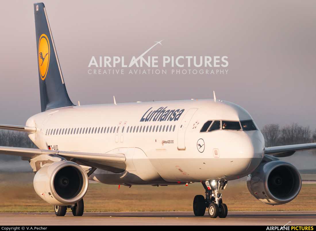 Lufthansa D-AIUQ aircraft at Munich