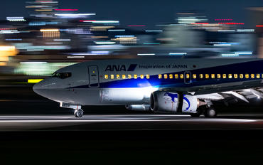 JA358K - ANA Wings Boeing 737-500