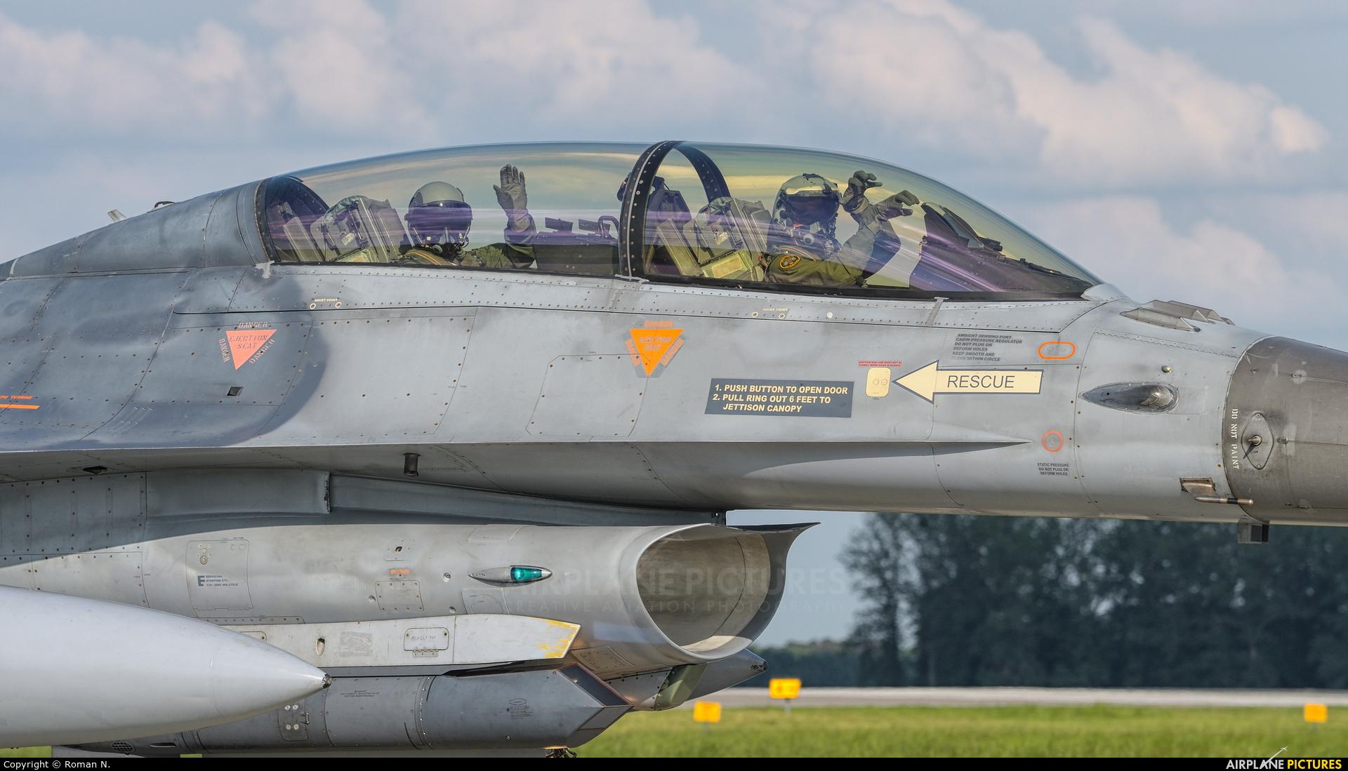 Belgium - Air Force FB-23 aircraft at Poznań - Krzesiny