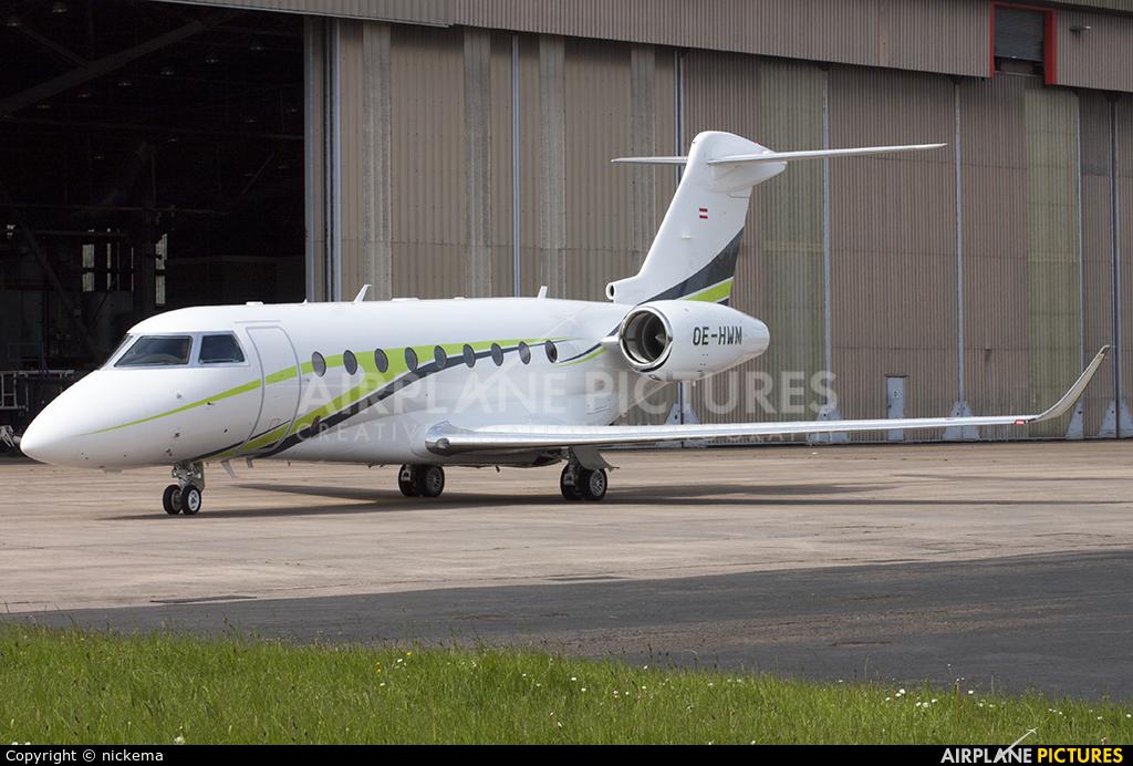Alpine Sky Jets OE--HWM aircraft at East Midlands