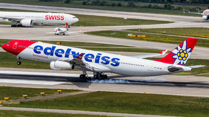 HB-JMF - Edelweiss Airbus A340-300