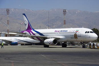 EP-AJH - Meraj Airlines Airbus A320