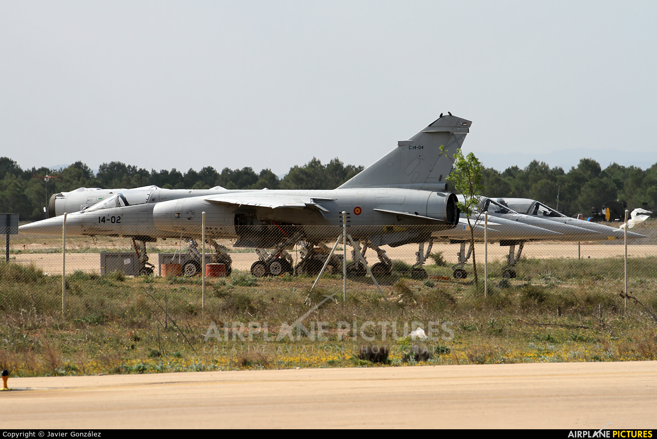Spain - Air Force C.14-04 aircraft at Albacete