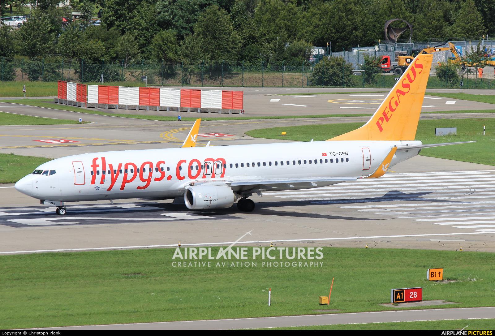 Pegasus TC-CPB aircraft at Zurich