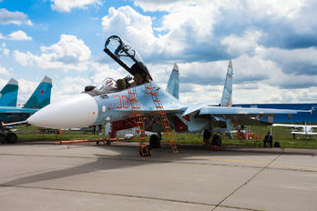 RF-81698 - Russia - Air Force Sukhoi Su-30SM