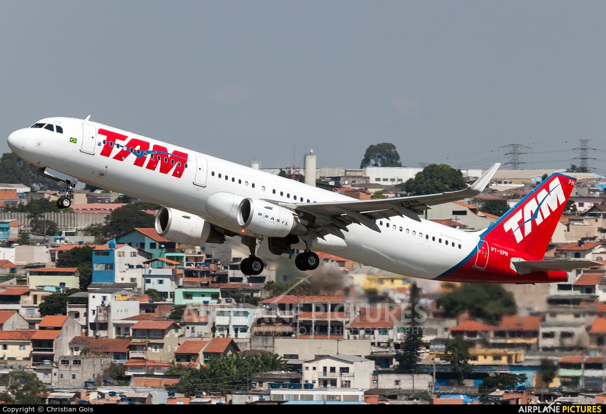 TAM PT-XPN aircraft at São Paulo - Guarulhos