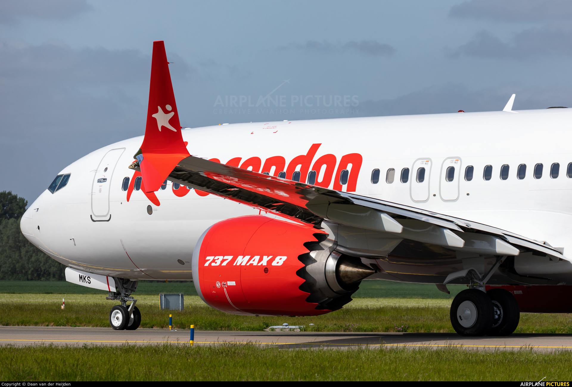 Corendon Airlines TC-MKS aircraft at Amsterdam - Schiphol