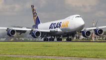 N854GT - Atlas Air Boeing 747-8F aircraft