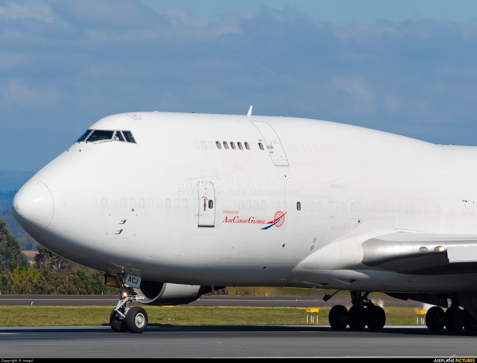 Air Cargo Global OM-ACJ aircraft at Santiago de Compostela