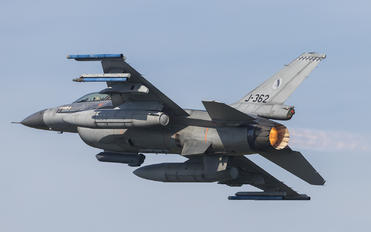J-362 - Netherlands - Air Force General Dynamics F-16A Fighting Falcon