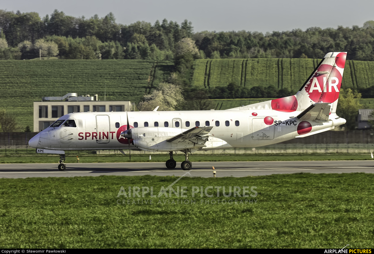 Sprint Air SP-KPC aircraft at Kraków - John Paul II Intl