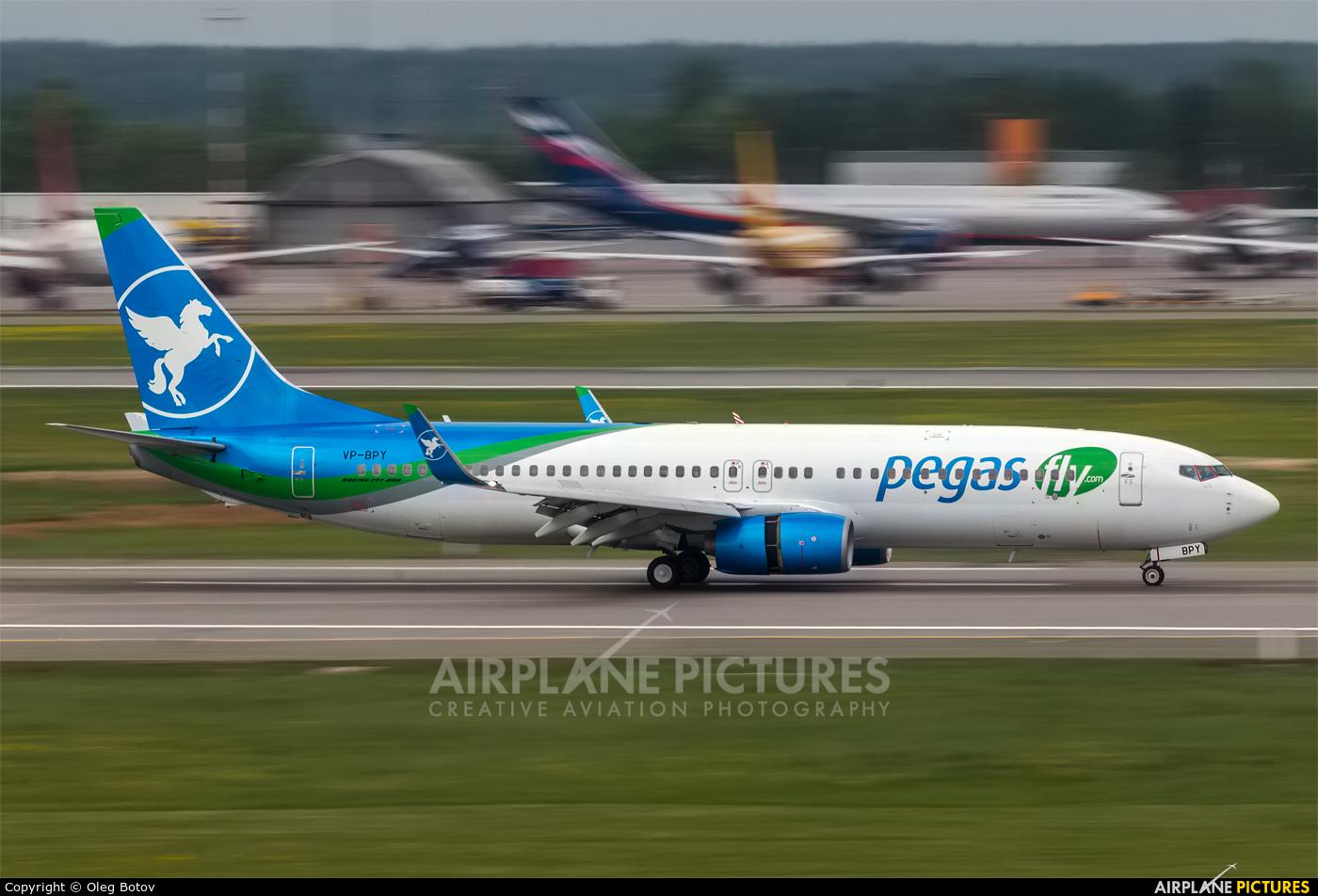 Pegas VP-BPY aircraft at Moscow - Sheremetyevo