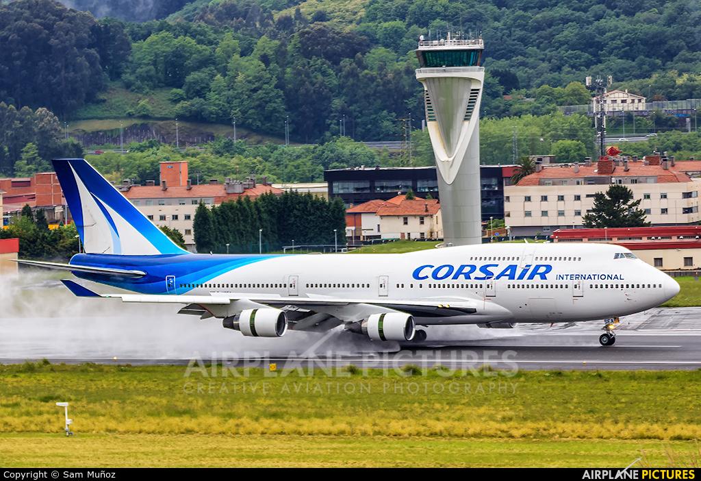 Corsair / Corsair Intl F-HSEA aircraft at Bilbao