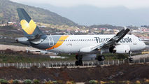 LY-VEL - Thomas Cook Airbus A320 aircraft
