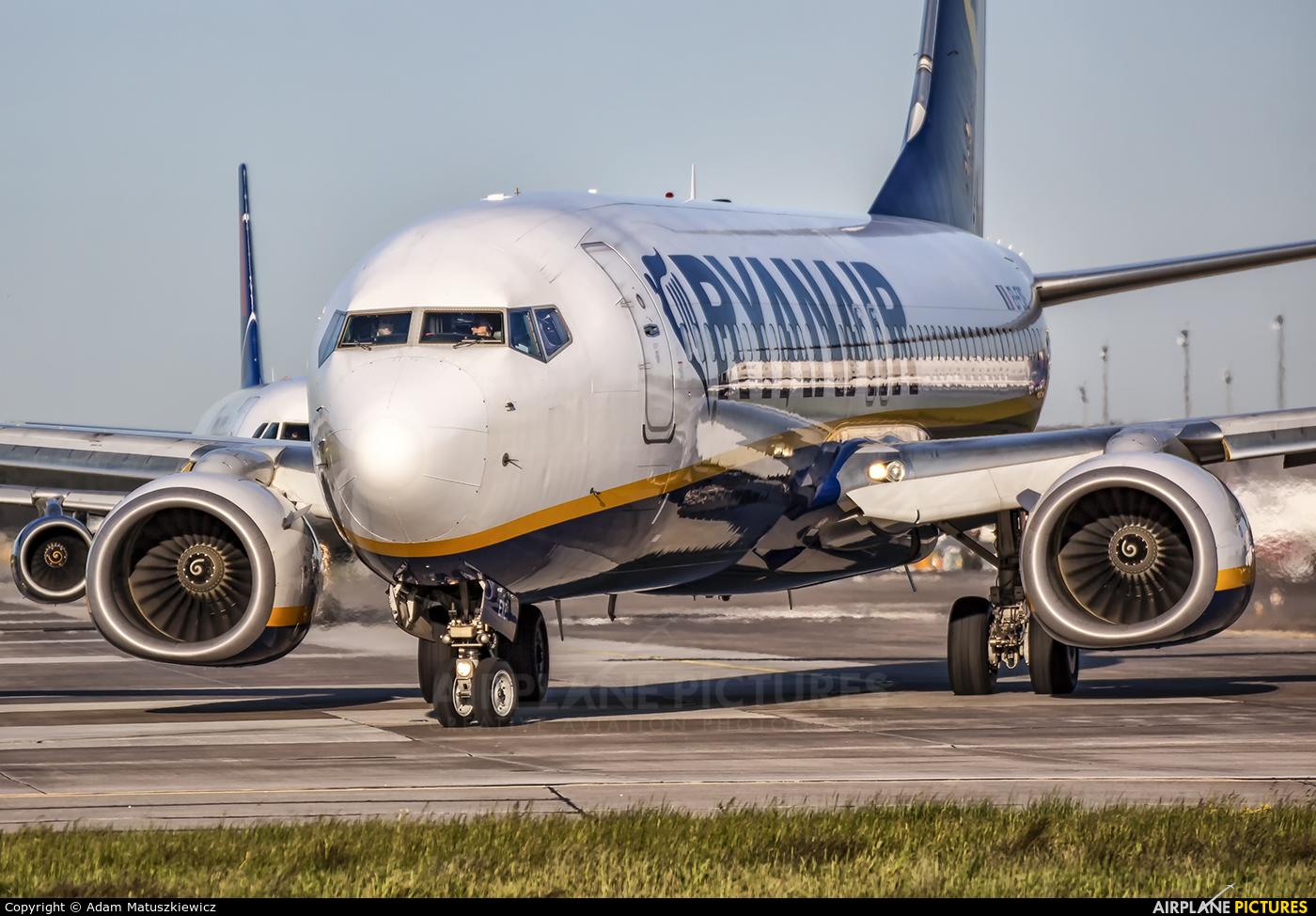 Ryanair EI-EXE aircraft at Katowice - Pyrzowice