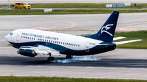 9H-OME - Montenegro Airlines Boeing 737-500 aircraft