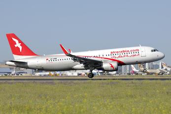 CN-NMM - Air Arabia Maroc Airbus A320