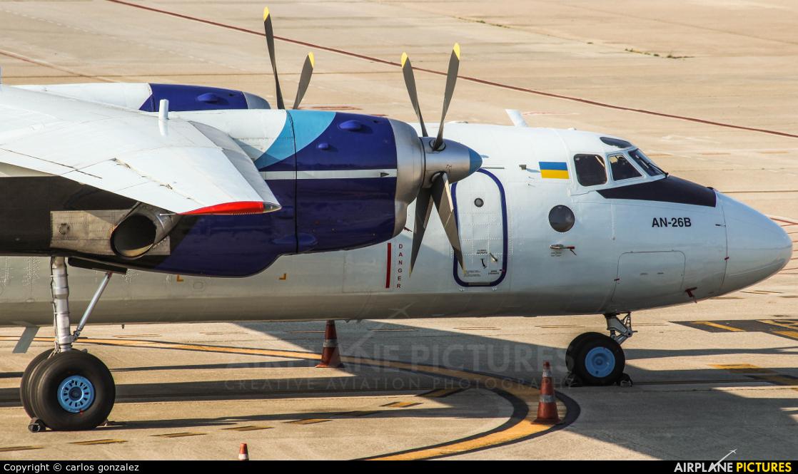 Vulkan Air UR-CQD aircraft at Vigo
