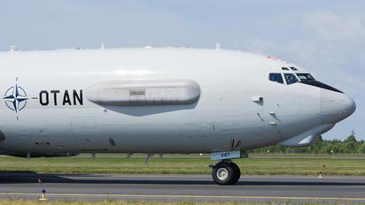 LX-N90447 - NATO Boeing E-3A Sentry