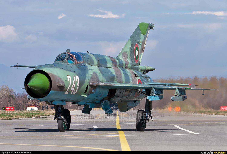 Bulgaria - Air Force 243 aircraft at Graf Ignatievo