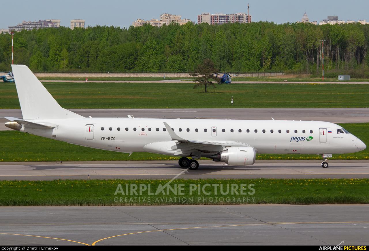 Ikar Airlines VP-BZC aircraft at St. Petersburg - Pulkovo