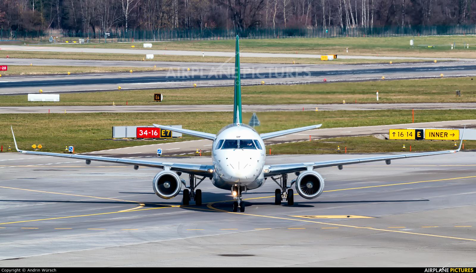 Alitalia EI-RDF aircraft at Zurich