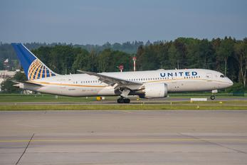 N27901 - United Airlines Boeing 787-8 Dreamliner