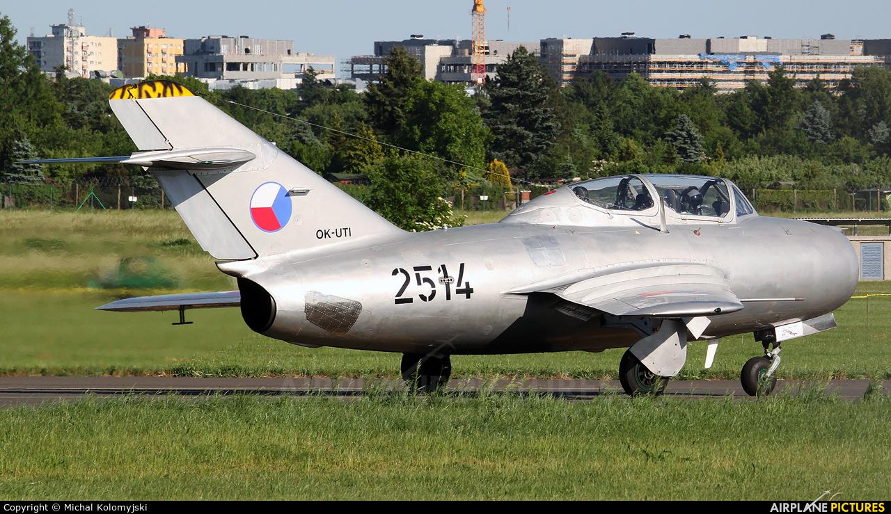 Private OK-UTI aircraft at Poznań - Ławica