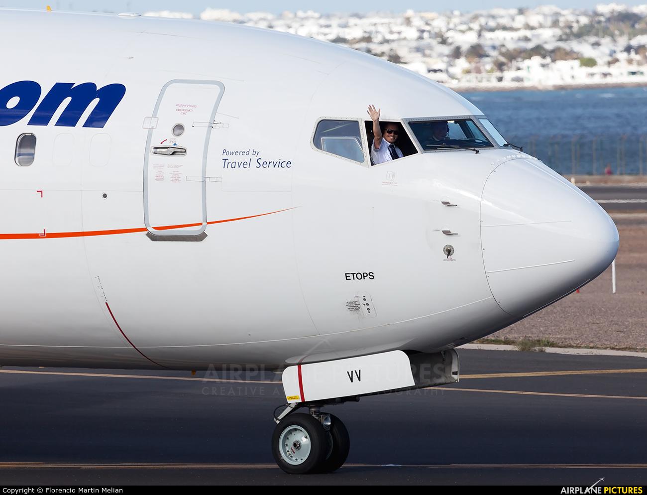SmartWings OK-TVV aircraft at Lanzarote - Arrecife
