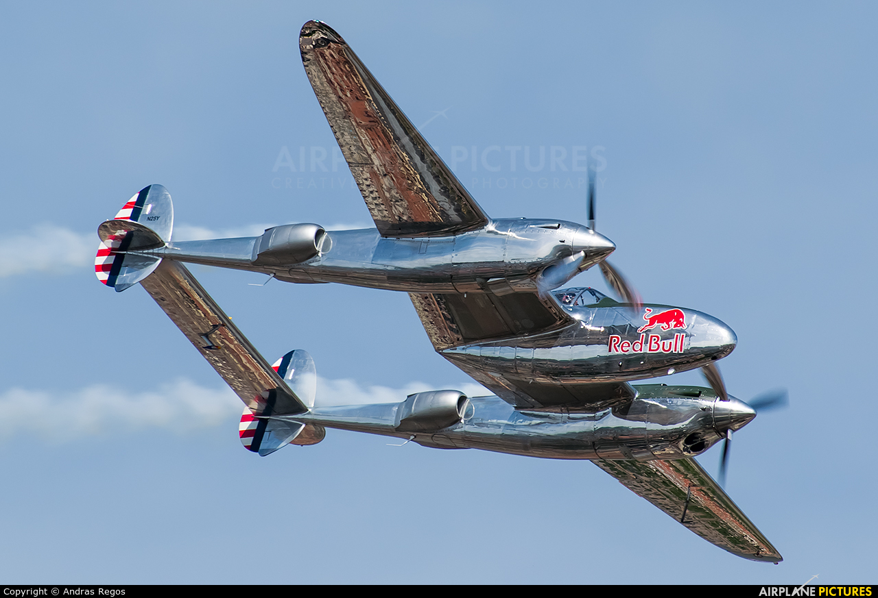 The Flying Bulls N25Y aircraft at Off Airport - Hungary